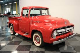1956 Ford F-100 | Streetside Classics - The Nation's Trusted Classic ... Ford F100 Project For Sale 1965 Ford 44 Great Or Parts Milk Mans 1956 Panel Van Wicked Affordable Rare Truck Sale American 56 Classiccarscom Cc1102396 Pickup Big Back Window Truck Original V8 Fordomatic Ford Chopped Pro Street Pickup Tube Chassis Pick Up Custom Street Rod For Sale Youtube Hennessey Velociraptor 6x6 Performance Bsi X100 Boasts Classic Fseries Looks Coyote Power Cc1130671