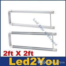 2ft led u lights t8 2ft x 2 u shaped led fluorescent bulbs