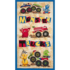 Monster Truck Fabric Panel   Sew   Pinterest   Quilts, Monster ... Amazoncom Nickelodeon Blaze High Octane Fleece 62 X 90 Twin And The Monster Machines Give Me Speed Cotton Fabric Etsy Prints For Babies Blog Polar Trucks Olive Discount Designer Truck Fabric Panel Sew Pinterest Quilts El Toro Loco Tote Bag For Sale By Paul Ward Antipill John Deere Brown Plaid Patch 59 Wide Zoofleece Kids Blue Boys Pjs Winter Warm Pajama Snuggle Flannel Joann Cute Rascals Toddler Pullover 100