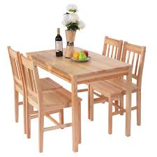 Solid Wooden Pine Dining Table And 4 Chairs Set Kitchen Ikea ... Kids Table And Chairs In Pine Woodnatural Kids 60 X 2 Kaubystorns Table 6 Chairs Antique Stain 201 Cm Ikea Rustic Seats 10 Recycled Reclaimed Wood With Natural Ikayaa Modern 5pcs Pine Wood Ding Set Kitchen Dinette Amazoncom Hcom 5 Piece Solid High Back Pcs Wunderbar Sheesham 8 Round Grey Side Silk Decor Elegant Bench For Inspiring Bedroom Fniture 4 White Natural Sold Annika Bistro Two Noa Nani Signature Design By Ashley Grindleburg 7 Rectangular 4d Concepts Urban Loft 3piece Breakfast