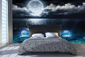 traume der mondnacht furs schlafzimmer fototapeten fixar