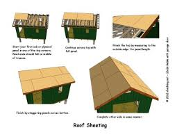 12x16 Shed Plans Material List by 12x16 Gable Storage Shed Plans With Roll Up Shed Door