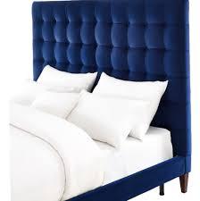 Blue Velvet King Headboard by Blue Velvet Headboard King Home Design Ideas