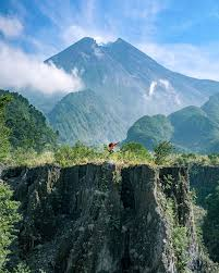 Mount Merapis Eruptions In 2006 And 2010 Have Brought Upon Major Changes The Landscape Surrounding Area What Was Once A Vast Meadow Of Green Is Now