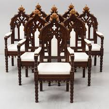 Eight Gothic Revival / Neo-Gothic Chairs, Probably Austria, 19th ... Upholstery Wikipedia Fniture Of The Future Victorian New Yorks Most Visionary Late Campaign Style Folding Chair By Heal Son Ldon Carpet Upholstered Deckchairvintage Deck Etsy 2019 Solutions For Your Business Payless Office Aa Airborne Chair With Leather Cover And Black Lacquered Oak Civil War Camp Hand Made From Bent Oak A Tin Map 19th Century Ash Morris Armchair Maxrollitt Queen Anne Wing 18th Centurysold Seat As In Museum On Holdtg Oriental Hardwood Cock Pen Elbow Ref No 7662