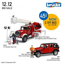 Super Bundling BIG SALE 12.12... - Bruder Toys In Indonesia | Facebook Bruder Man Fire Engine With Water Pump Light Sound For Our Mb Sprinter With Ladder And Tgs Tank Truck Buy At Bruderstorech Toys Mercedes Benz Ladderlights Man Water Pump Light Sound The 02480 Unimog Wth Amazoncouk Slewing Laddwater Pumplightssounds Mack Truck Minds Alive Crafts Books Super Bundling Big Sale 12 In Indonesia Facebook Bruder Land Rover Defender Preassembled Engine Model 116 Jeep Rubicon Rescue Fireman Vehicle Set
