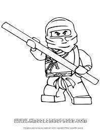 Cole Ninjago Coloring Page
