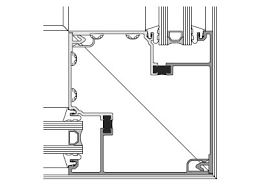 Kawneer Curtain Wall Cad Details by Ccp Cww451t Thermally Broken Window Wall Storefront System