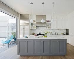 white and gray kitchen Kitchen and Decor