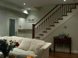 Living Room Overlooking Front Door And Stairs