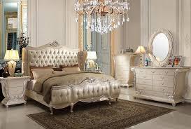 Antique White Bedroom Furniture Set