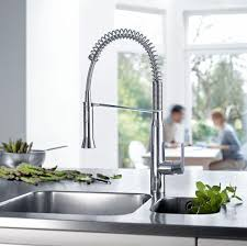 Grohe Essence Kitchen Faucet by K7 Medium Semi Pro Single Handle Standard Kitchen Faucet Touch