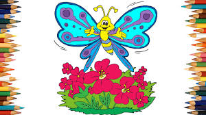 Butterfly Coloring Pages For Kids Book Part 02