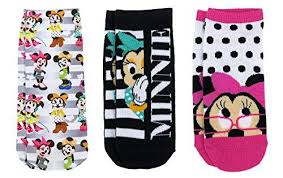 kit chambre de culture pas cher disney womens minnie mouse ankle no socks 3 pair pack one