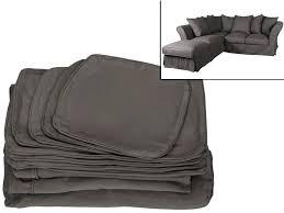 couverture pour canap d angle couverture pour canape marron chocolat housse de canape 3 places
