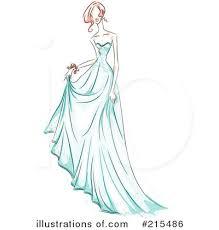 Royalty Free RF Fashion Clipart Illustration By BNP Design Studio