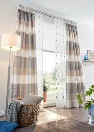 vorhang mit querstreifen coole vorhänge gardinen modern