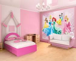 Kids BedroomFairy Tale Dream Princess Bedroom Using Pink Bed Sheet Also White Pillows Plus