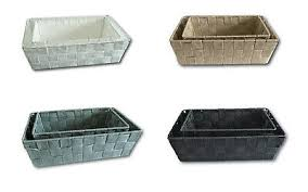 2 teiliges set ablagekorb aufbewahrungskorb bad küche regalkörbe korb universal