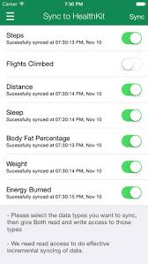2 Healthkit Sync Apps for Fitbit Users iPhone Apps Finder
