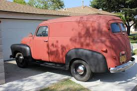 Nostalgia On Wheels: Gabe's 1947 Chevy Deluxe Panel Truck 1954 Chevy Panel Deluxe Truck 194748495051525355 Suburban This 1947 Pickup Is In A League Of Its Own Photo Image Gallery 1948 149 1950 1951 Satin Black Chevrolet Panel Truck With Ideas Legends 100 Year History 1966 Chevy Jpm Ertainment Thriftmaster Stephanie Manuel Stuckey Flickr Tci Eeering 471954 Suspension 4link Leaf 1952 Sedan Delivery And Gmc Trucks Pinterest Repairing Damaged Cowl Patch On 471955 Hot John Monacos Chevs The 40s News Events