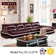 preis wohnzimmer möbel verwendet luxus sofa sets meubles gießen la maison leder sofas