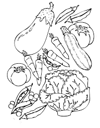 Download Food Coloring Pages
