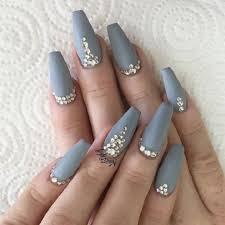Acrylic Nails Grey Acrylic Nails Trik summer Nail Designs For