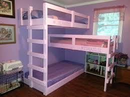 Triple Bunk Bed Plans Free by Bedroom Smart Beds For Small Bedrooms Ideas Triple Bunk Beds