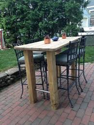 Backyard: Pin By Shayna Raidel On Diy Furniture In 2019 ... Kitchen Design Counter Height Ding Room Table Tall High Hightop Table With 4 Leather Chairs Top Hanover Monaco 7piece Alinum Outdoor Set Round Tiletop And Contoured Sling Swivel Chairs High Kitchen Set Replacement Scenic Top Wning Amazing For Sets Marble Square And Glass Small Pub Style Island Home Design Ideas Black Cocktail Low Tables Astonishing Rooms Modern Wood Dark 2