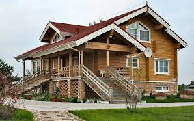 maison bois lamelle colle maison préfabriquée classique en bois lamellé collé