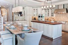Wine Kitchen Decor Sets By Rectangular Chandelier Over Table Transitional