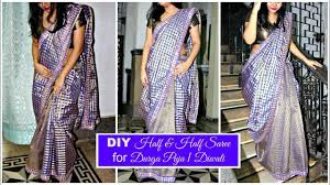 How To Make A Half & Half Saree At Home With Beautiful Border ... Emejing Work From Home Fashion Design Jobs Contemporary Interior Learning Fashion Designing At Home Design How To Make Your Own Designer Saree Diy With American Designers Cool Hunting Make Button Machine By Cloth Footwear Shoe Uk The Process Photo Collection For You Dont Really Have Go College Or Any Other Fancy Expensive Luxury Ideas In A Neighbors House Sims Freeplay 14 How To Make Saree Kuchulatest Design 04 Tutorial Learn Blouse Youtube