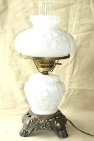 Fenton Lamp Parts Milk Glass Hobnail Lamp Hobnail Milk Glass Lamp