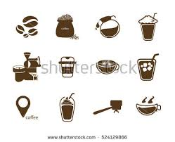 Coffee Icon Vector Stock Royalty Free 524129866