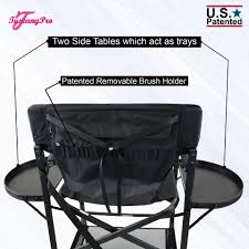 Tuscany Pro Tall Makeup Artist Portable Chair -29