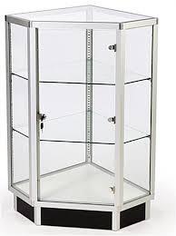glass cabinets 28 corner display w hinged door locking door