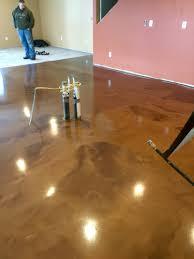 Behr Garage Floor Coating by Metallic Epoxy Floor Coating By Sierra Concrete Arts Interior