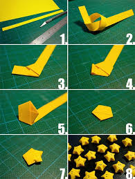 You Can Make For Decorative Or Present With Your Favorite Color Papers If Dont Know How To These Lucky Origami Stars Follow The Steps Learn