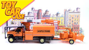 100 Truck Top GMC TRUCK TOP KICK Asplundh Tree Expert Co Truck Toy Car Case YouTube