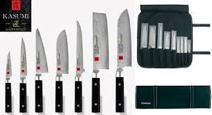 malette couteaux de cuisine professionnel mallette couteaux kasumi master chroma