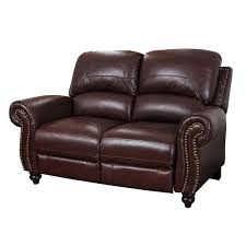Darby Home Co Kahle Leather Reclining Loveseat & Reviews