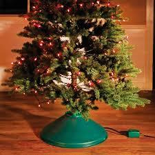 Your Choice 75 Ft Pre Lit Christmas Tree And Rotating Stand Bundle