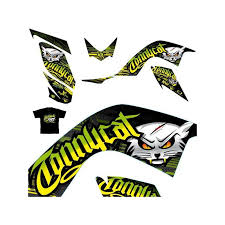 kit deco shirt tonnycat green cat edition 700 raptor