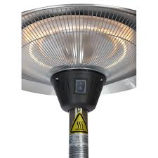 Fire Sense Deluxe Patio Heater Stainless Steel by Fire Sense Infrared Patio Heater Dimmer Switch Wayfair Fire Sense