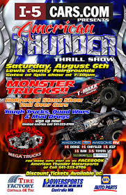 Monster Truck!! Presented By I-5 CARS | Centralia-Chehalis Chamber ... Monster Trucks To Shake Rattle Roll At Expo Center News Truck Night Of Thrills Victorville Tickets In Jam Is Coming The Verizon Dc On January 24th Pgh Momtourage 4 Ticket Giveaway Monsters Tooele Ut March 1617 2018 Live A Little Productions Ticket 214 Izod New Jerseyclosed For The First Time At Marlins Park Miami Discount Code Fall Bash September 15 York Fair Us Bank Arena Giveaway Back 1st Ford Field Mjdetroit Presented By I5 Cars Centrachehalis Chamber