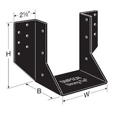 2 x 6 decorative joist hangers ohu46 sds3 ornamental joist hanger