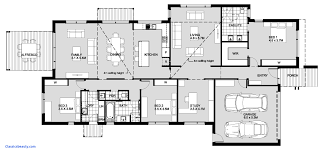 5 Bedroom House Plans Single Story s And Video 10 Traintoball