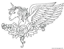 Coloring Pages Unicorns Easy Unicorn Page Together With Rainbow