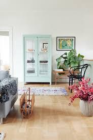 Mint Green Dining Room Hutch Tikkie Elsoe Apartment Copenhagen